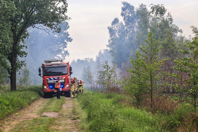 Weer brand in Deurnsche Peel