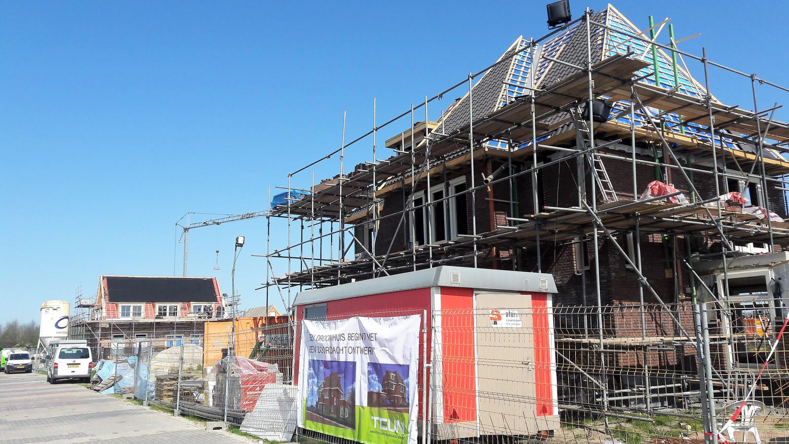 Bouwen aan de nieuwe landelijke woonwijk Westwaard in Kaatsheuvel.