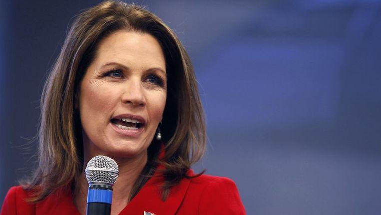 Michele Bachmann begon haar politieke carrière bij de Democraten, net als Rick Perry. Beeld REUTERS