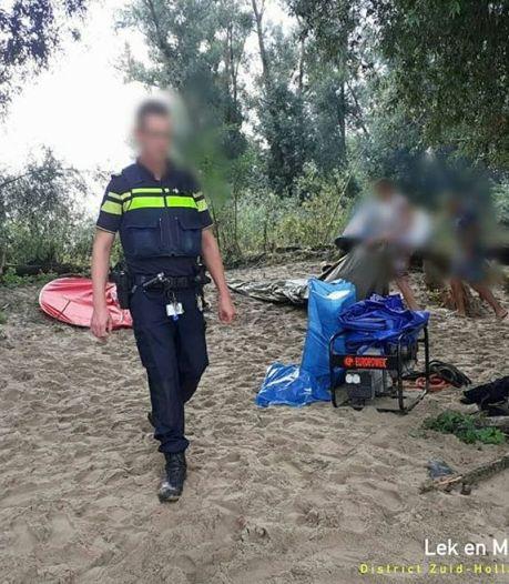 Op één avond twee illegale feesten beëindigd in Biesbosch