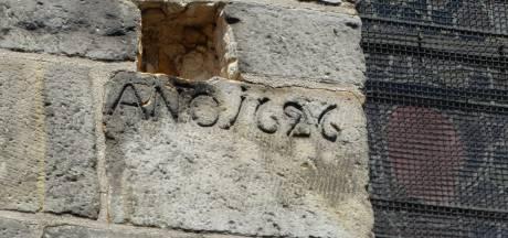 Mysterieuze verdwijning eeuwenoude kogel uit muur Plechelmusbasiliek Oldenzaal opgelost: 'Hij is grondig gerestaureerd'
