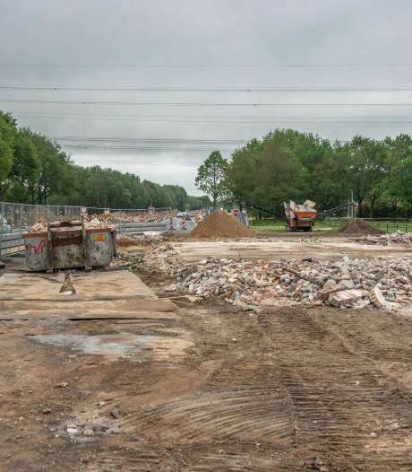 Vleermuisboerderij N35 eindelijk gesloopt