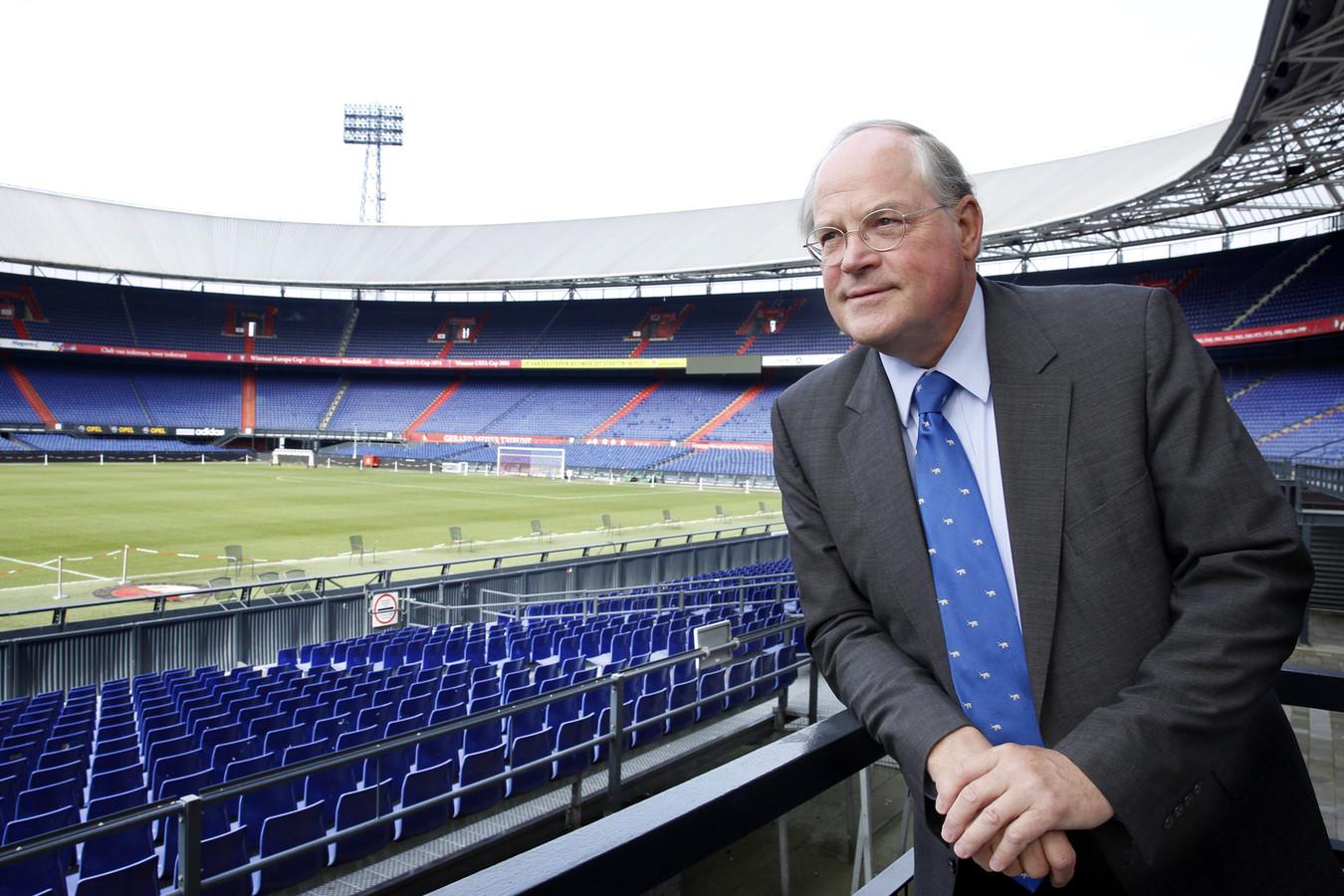 President-commissaris René van Ierschot van Stadion Feijenoord.