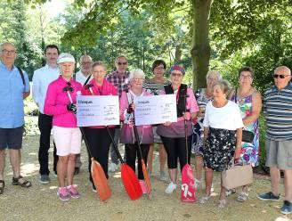Pink Ribbonettes ontvangen mooie cheque van sympathiserende verenigingen