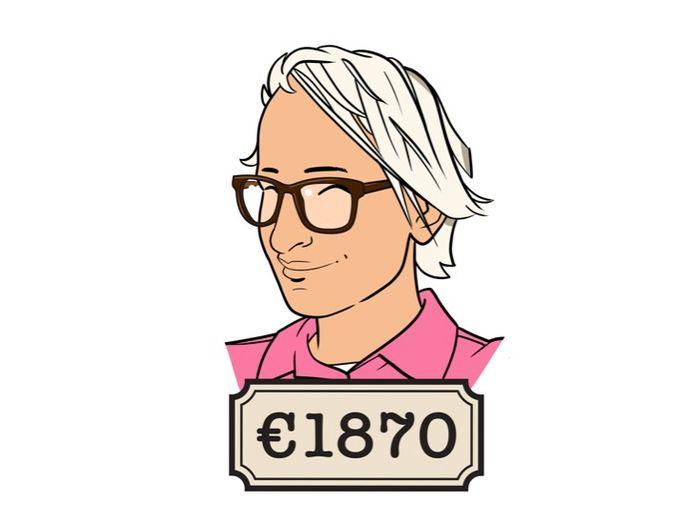 Chantal werkt bij een verzekeringsmaatschappij en heeft een Instagrampagina over geldzaken.