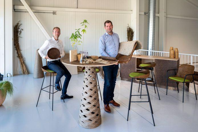 Wridzer Bakker (rechts) en Martijn Kruisweg van Plantics.