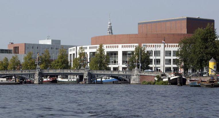 De Stopera, het gemeentehuis van Amsterdam. Foto ANP Beeld