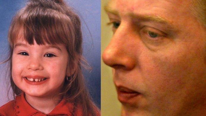 Vader Martin Huisman wil voorkomen dat de moordenaar van zijn dochtertje Rowena (links) vrijkomt.