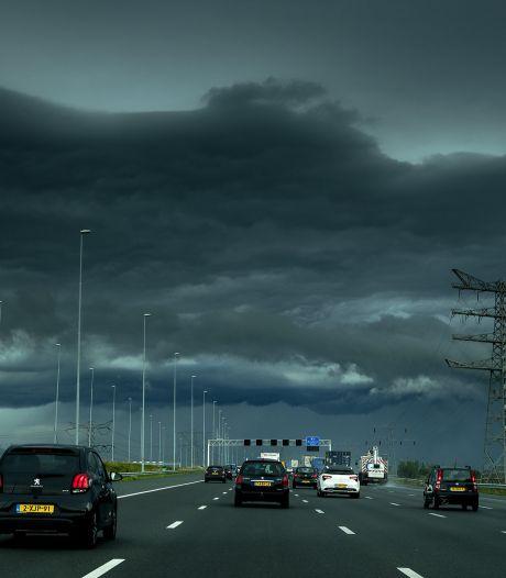 Code oranje in België, ook in Brabant weekend met onweer en regen verwacht