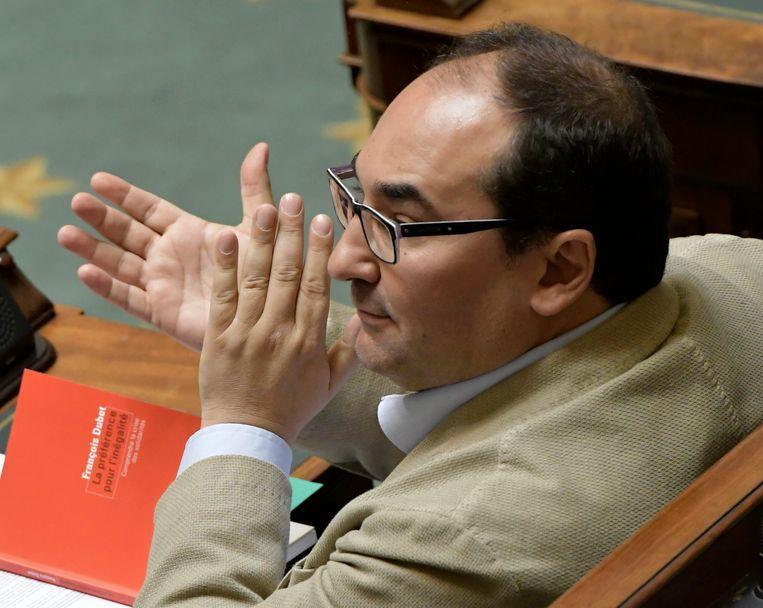 PS-kamerfractieleider Ahmed Laaouej. Beeld Photo News
