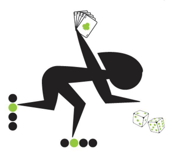 Jelle De Simpelaere ontwierp speciaal voor de spelletjesnamiddag een aangepast logo van KORR.