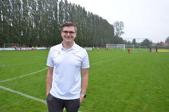 Jonas Baudine was twee jaar jeugdtrainer in China.