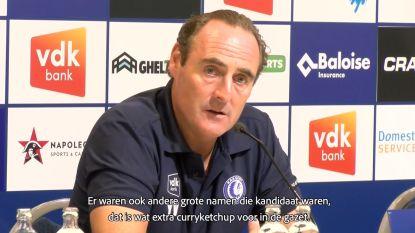 """Vanderhaeghe straks tegen Thierry Henry? AA Gent-coach kan er mee lachen: """"Extra curryketchup voor in de gazet"""""""