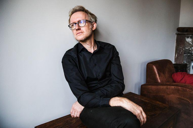 David Van Reybrouck: 'Er is veel wat ik aan Nederland bewonder. Maar wat ik zelden begrijp, is hun moeilijke omgang met het koloniale verleden.' Beeld Aurélie Geurts