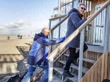 Strandhuisjes in Hoek van Holland: 'Prachtig toch!'