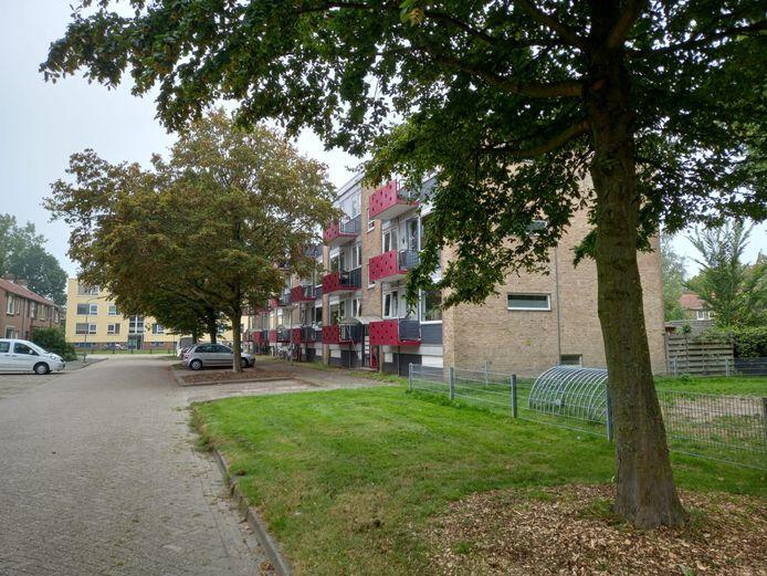 De flat aan de Jozef Israëlstraat.