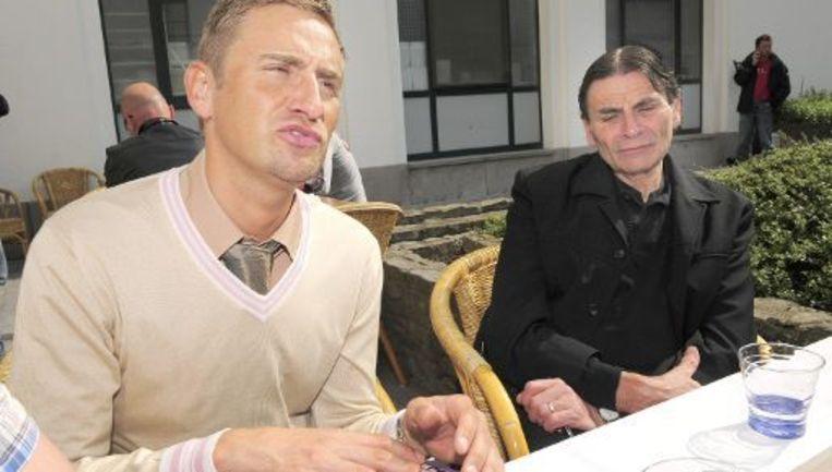 VDB met zijn vader Jean-Jacques. Beeld UNKNOWN
