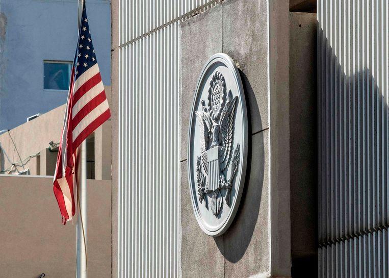 De Amerikaanse ambassade in Tel Aviv