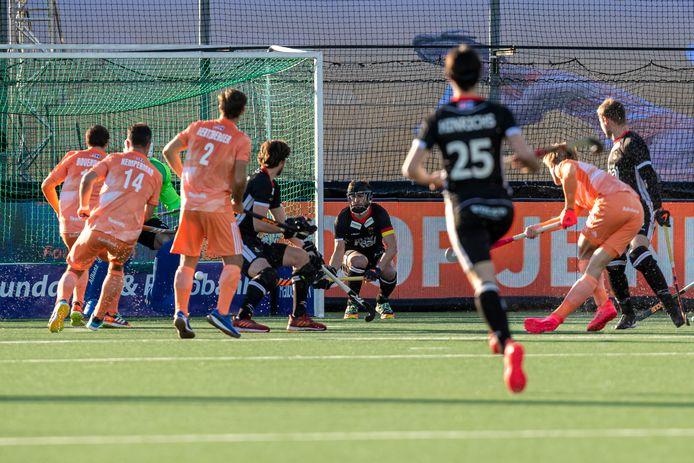 De Nederlandse mannenhockeyploeg heeft in de Pro League een nederlaag geleden tegen Duitsland.