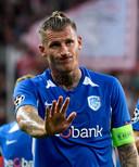 Dewaest excuseert zich bij de meegereisde fans voor de non-match in Salzburg.