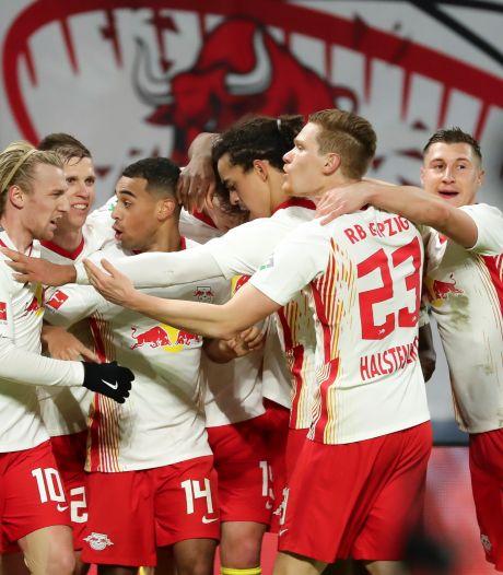 Leipzig renverse in extremis Gladbach et reste au contact du Bayern