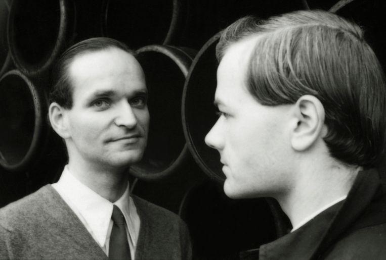 Florian Schneider (links) en Ralf Hütter. Beeld Hollandse Hoogte / Camera Press Ltd