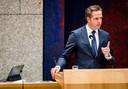 Hugo de Jonge gisteravond tijdens het plenaire debat in de Tweede Kamer.