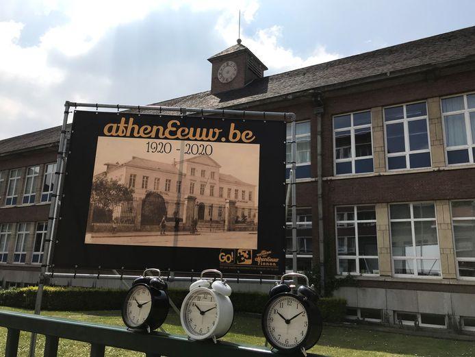 GO! atheneum Tienen wordt 100 jaar.