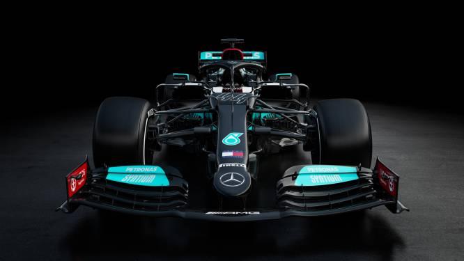 Met deze zwarte bolide aast Lewis Hamilton op achtste wereldtitel