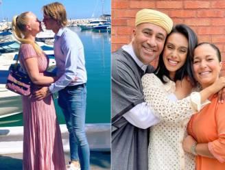 SHOWBITS. Lesley-Ann geniet van liefdesvakantie en Nora Gharib toont haar trotse ouders