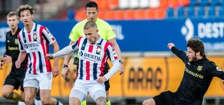 Feyenoord-huurling Ian Smeulers geniet zelfs van korte invalbeurten bij Willem II