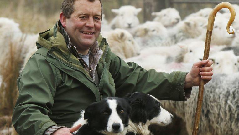 James Rebanks op zijn Racy Ghyll Farm Beeld Murdo MacLeod