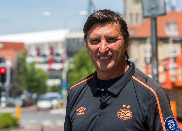 Luc Nilis in juni in Eindhoven, nabij het Philips Stadion.