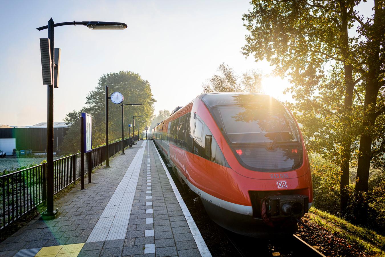 Nu rijden er nog oudere dieseltreinen tussen Enschede en Münster. Dat moet anders.