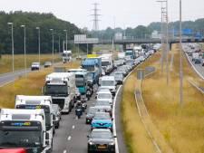 File tussen Epe en Zwolle door kapotte vrachtauto opgelost