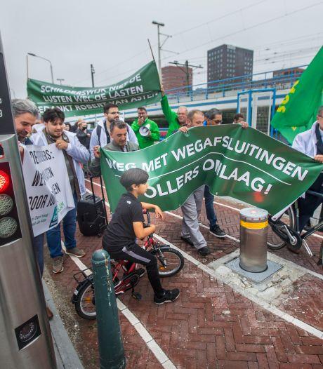 Tegenstanders van pollers in Schilderswijk zijn nog niet moegestreden: 'Lucht is viezer dan ooit'