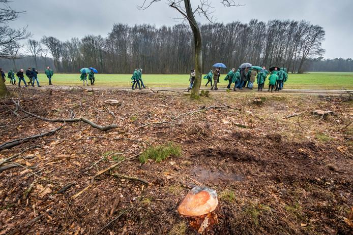 In maart werd ook al een excursie verzorgd door het Springendal om mensen te informeren over de ontwikkelingen in het gebied.