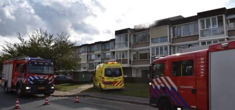 Brand in appartementencomplex in Elst