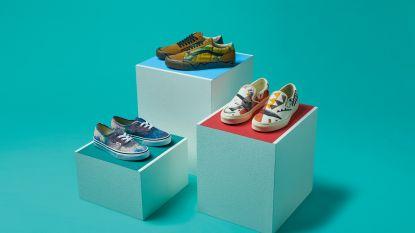 In de schoenen van Dalí en co: Vans en MoMa maken collectie geïnspireerd op wereldberoemde kunstwerken