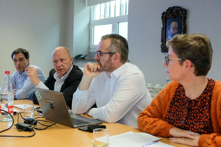Presentatie van het meerjarenplan.
