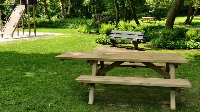 Gemeente plaatst twee picknicktafels voor rolstoelgebruikers