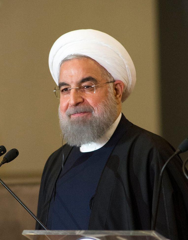 President Hassan Rohani Beeld Photo News