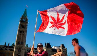 Canada is ons voor: marihuana wordt gelegaliseerd