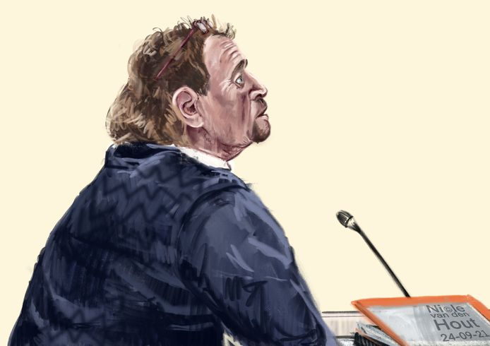 Gouwenaar Nico B. (68) in de Haagse rechtbank