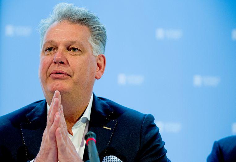 Ex-PVV'er Hero Brinkman hoopt met zijn Ondernemerspartij mee te doen aan de verkiezingen. Beeld Robin Utrecht
