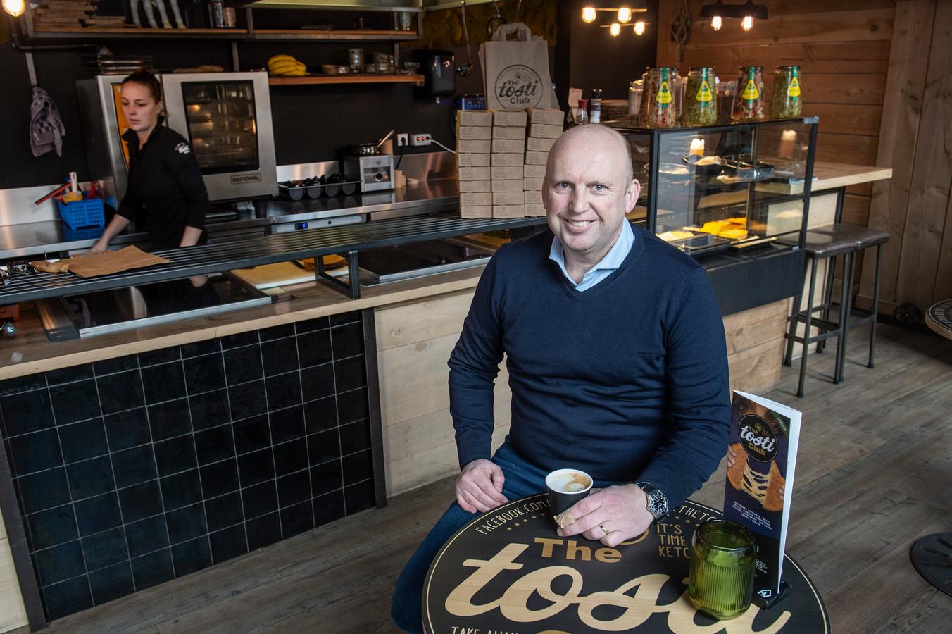 Jacco Heijkoop is oprichter van de formule The Tosti Club, die inmiddels 11 vestigingen heeft.