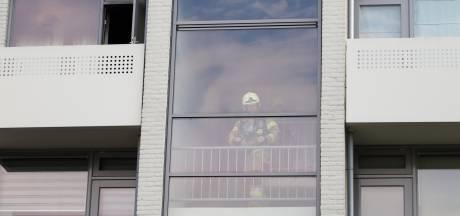 Man ademt te veel rook in door in brand gevlogen frietpan in Boxtel