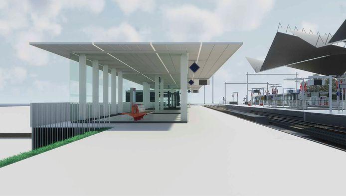 Vernieuwing station Tilburg (perron 4)