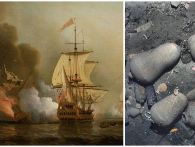 Wrak met 14 miljard aan schatten gevonden voor Colombiaanse kust
