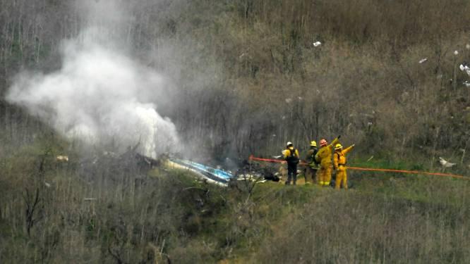 Ontslag dreigt voor brandweermannen na delen foto's dodelijk ongeval Kobe Bryant